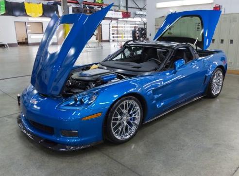 Chevrolet Restores First Sinkhole Damaged Corvette Chevy News Okc Ok
