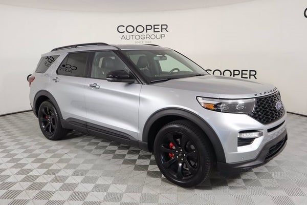 2020 ford explorer st in shawnee ok oklahoma city ford explorer joe cooper chevrolet 2020 ford explorer st